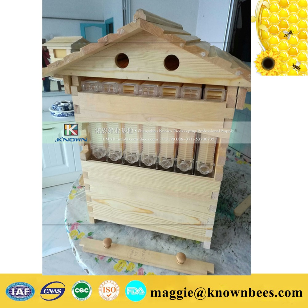 beekeeping new flowing honey bee hives beekeeping honey bee hive automatic honey flow 7 frames bee flow frame