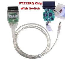 Новый ИНПА K + может для BMW с FT232RQ чип с переключателем для BMW с 8 Булавки и K-LINE протокол от 1998 до 2008 лучше, чем FT232R