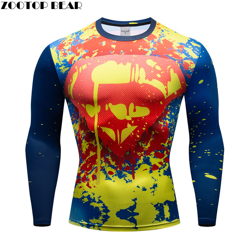 Males Compression Shirts Bodybuilding Pores and skin Tight Lengthy Sleeves Stable Shade Clothings MMA Cross Exercise captainer Health Sportswear T-Shirts, Low cost T-Shirts, Males Compression Shirts Bodybuilding Pores and...