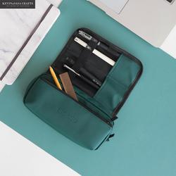 새로운 슈퍼 큰 연필 케이스 pu 품질 귀여운 학교 용품 편지지 선물 학교 귀여운 연필 상자 연필 케이스 연필 가방