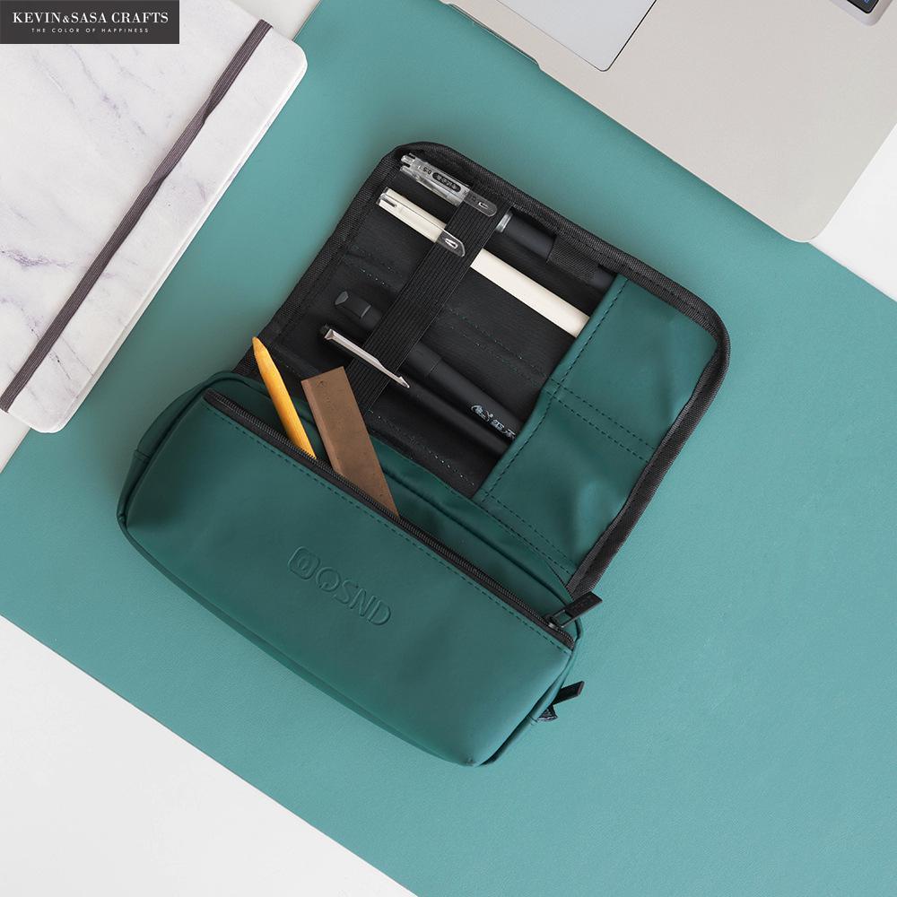 New Super Big Pencil Case PU Quality Cute School Supplies Bts Stationery Gift School Cute Pencil Box Pencilcase Pencil Bag