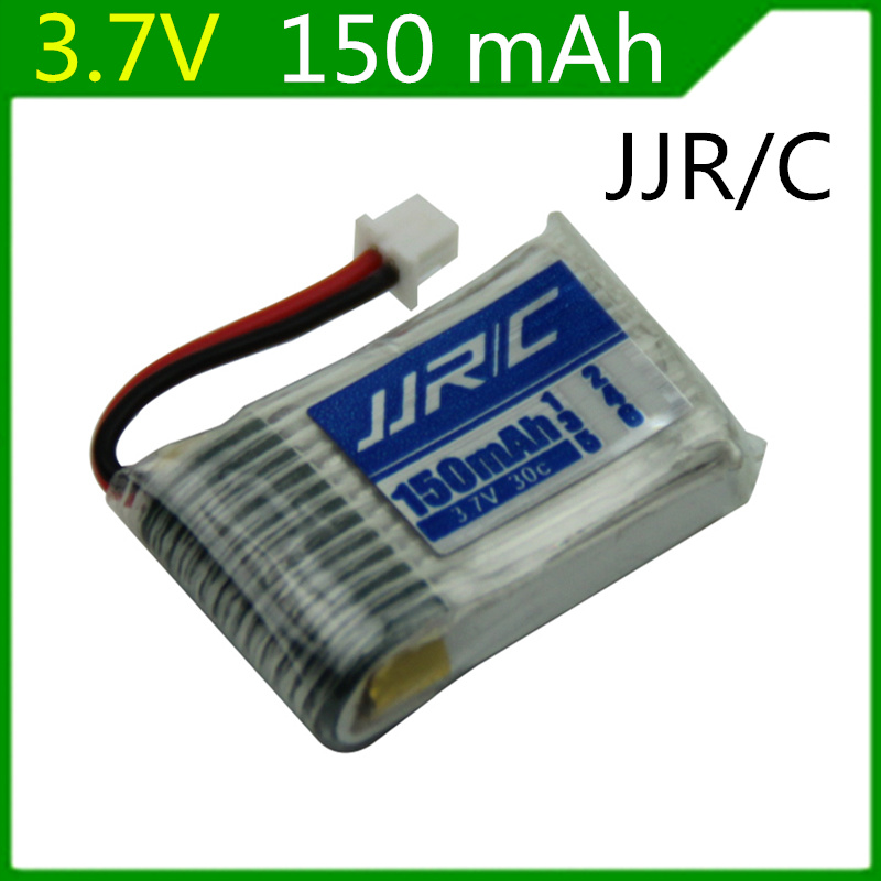3.7v 150mah Jjrc H20 Rc Quadcopter Spare Parts 150mah Lipo Battery Original 1pcs Bateria Jjrc H20 Battery For Toys 1.25mm Plug