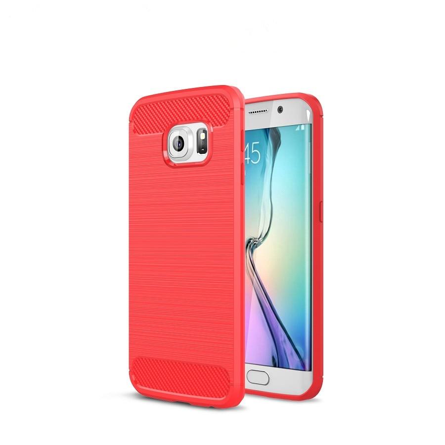 Mehak silikonski ovitek TPU za Samsung Galaxy S7 S6 Edge Luksuzni - Dodatki in nadomestni deli za mobilne telefone
