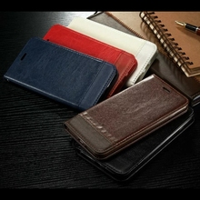 Saddle Case for iPhone 7 Plus 6 6s Plus 5s SE Cover Flip Wallet Phone Bag Case for Samsung Galaxy S8 S6 S7 Edge Note 5 Coque