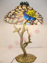 Popular Peacock Stained Glass-Buy Cheap Peacock Stained Glass lots from China Peacock Stained