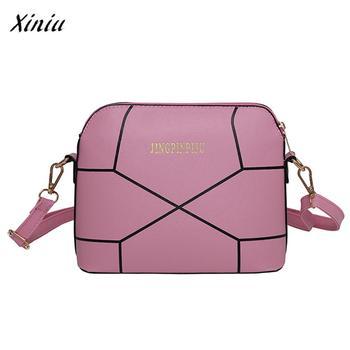 USPS XINIU Women Fashion Pretty Style Daily Luxury Handbag Crack Shoulder Bag Large Tote Ladies Purse Crossbody Bag Femininas shoulder bag