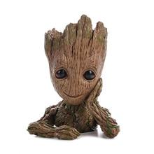 Дерево, человек, детская фигурка, грубая кукла, Стражи Галактики, модель игрушки, статуя, украшения, Грут, игрушка для детей
