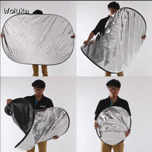 Studio photography equipment 100*150cm five-in-one size reflector with carrying case outdoor filming CD50 T08(China)