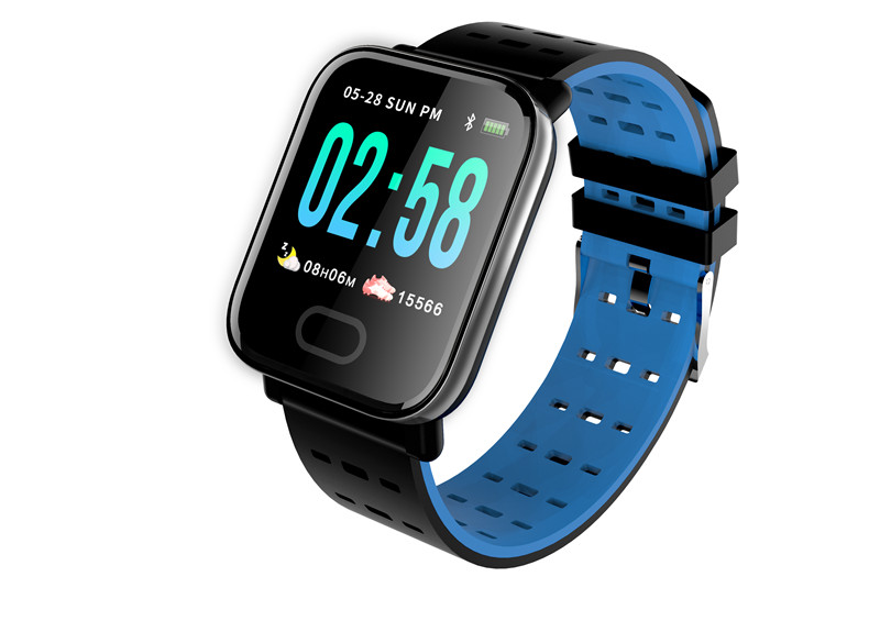 mafam A6 Smart Watch Heart Rate Monitor Sport Fitness Tracker Sleep Monitor blood pressure Waterproof Sport Watch Band for IOS Android (24)