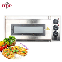 ITOP Commercial Pizza Oven Timer Electric 20L Pizza Oven Commercial Ceramic Pizza Stone CE Certificate 110V/220V