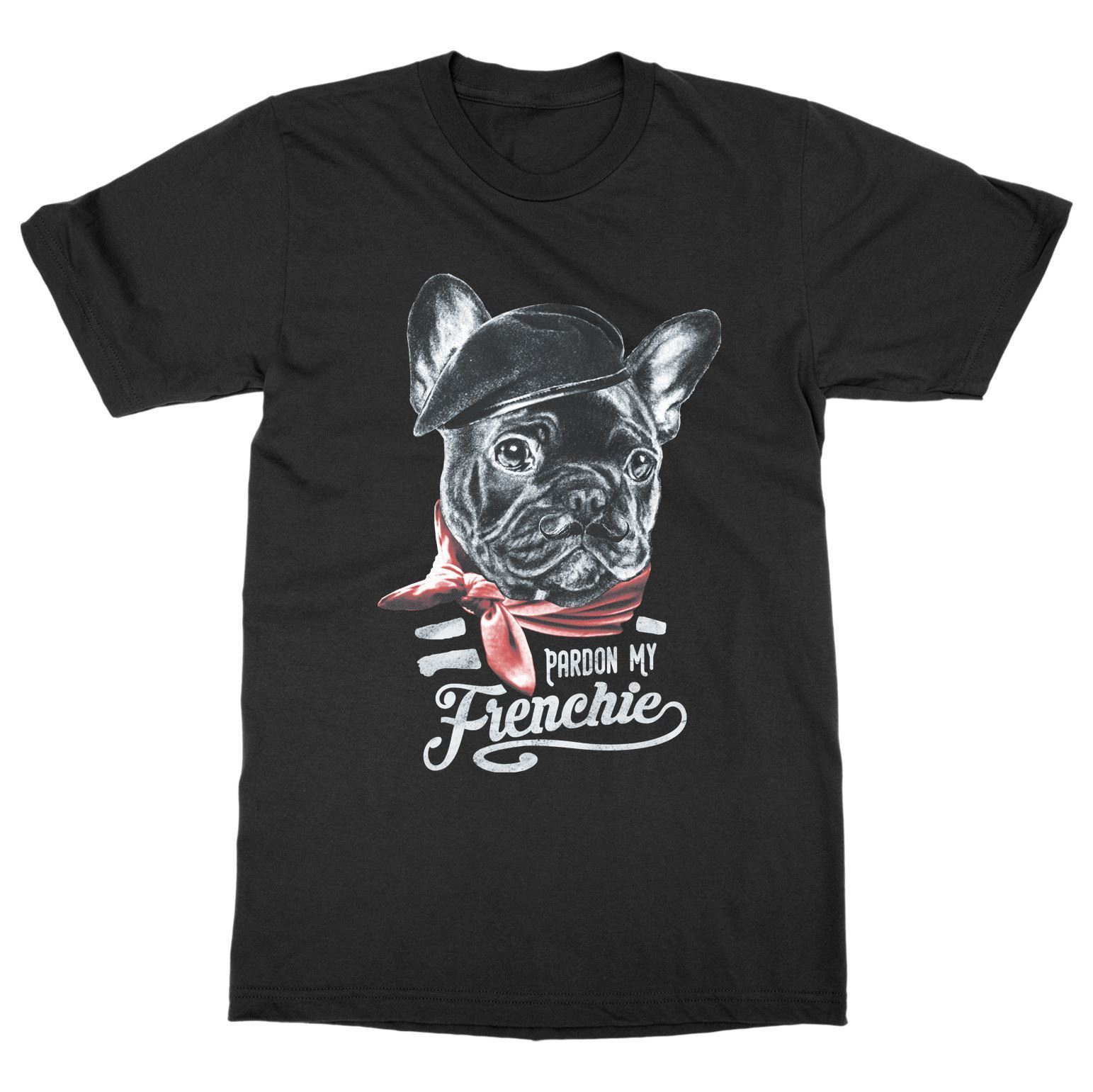 Pardon My frenchie футболка Французский бульдог щенок Pet