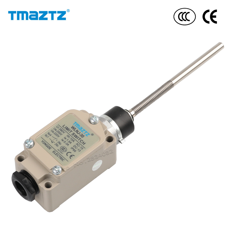Switches Lights & Lighting Initiative Limit Switch No Nc Double Spring Circuit Metal Spring Lever Head Waterproof Momentary Switch Ip66 Wlnj-30 Aluminium Alloy
