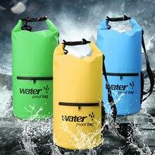 10L 20L Kayak Canoe Waterproof Bag Dry Bag PVC Outdoor Boats Bag Swimming Rafting Dry Sack Bagpack
