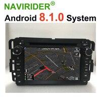 Android 8.1.0 HU Car Radio For GMC Yukon Tahoe Acadia Chevrolet Tahoe Suburban Chevy Tahoe GPS Navigation Car Multimedia Player