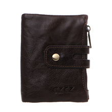 Men Women Leather Short Wallet Pocket Coin ID Credit Card Money Holder Clutch Purse цены