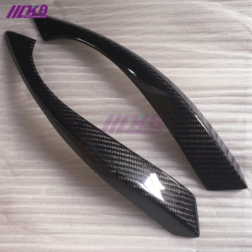 Carbon Fiber Eyebrow Eyebrows Eyelids Car Accessories FOR SUZUKI SWIF free shipping carbon fiber headlight covers eyelids eyebrows fit for mazda 6 vi ruiyi 09 13
