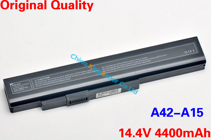 KingSener New A42-A15 Laptop Battery For MSI A6400 CR640 CX640 For Medion E6221 E6227 P6815 P6634 X6815 A32-A15 A41-A15 A42-A15 new laptop keyboard for medion md97789 md97791 md97827 md97828 md97829 md97837 md97869 md97883 md97884 sw switzerland