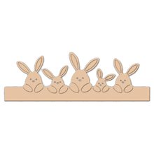 Easter Rabbit Family Metal Cutting Dies for Card Making