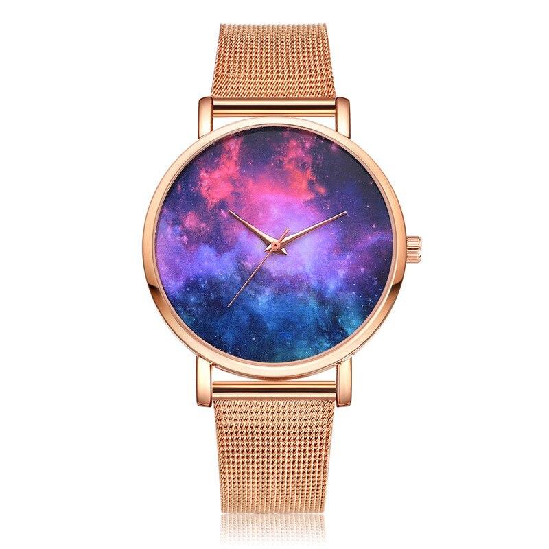 100% QualitäT Lvpai Frauen Casual Quarz Mesh Gürtel Uhr Analog Armbanduhr Marke Luxus Frauen Armband Uhren Mode Frauen Kleid Handgelenk