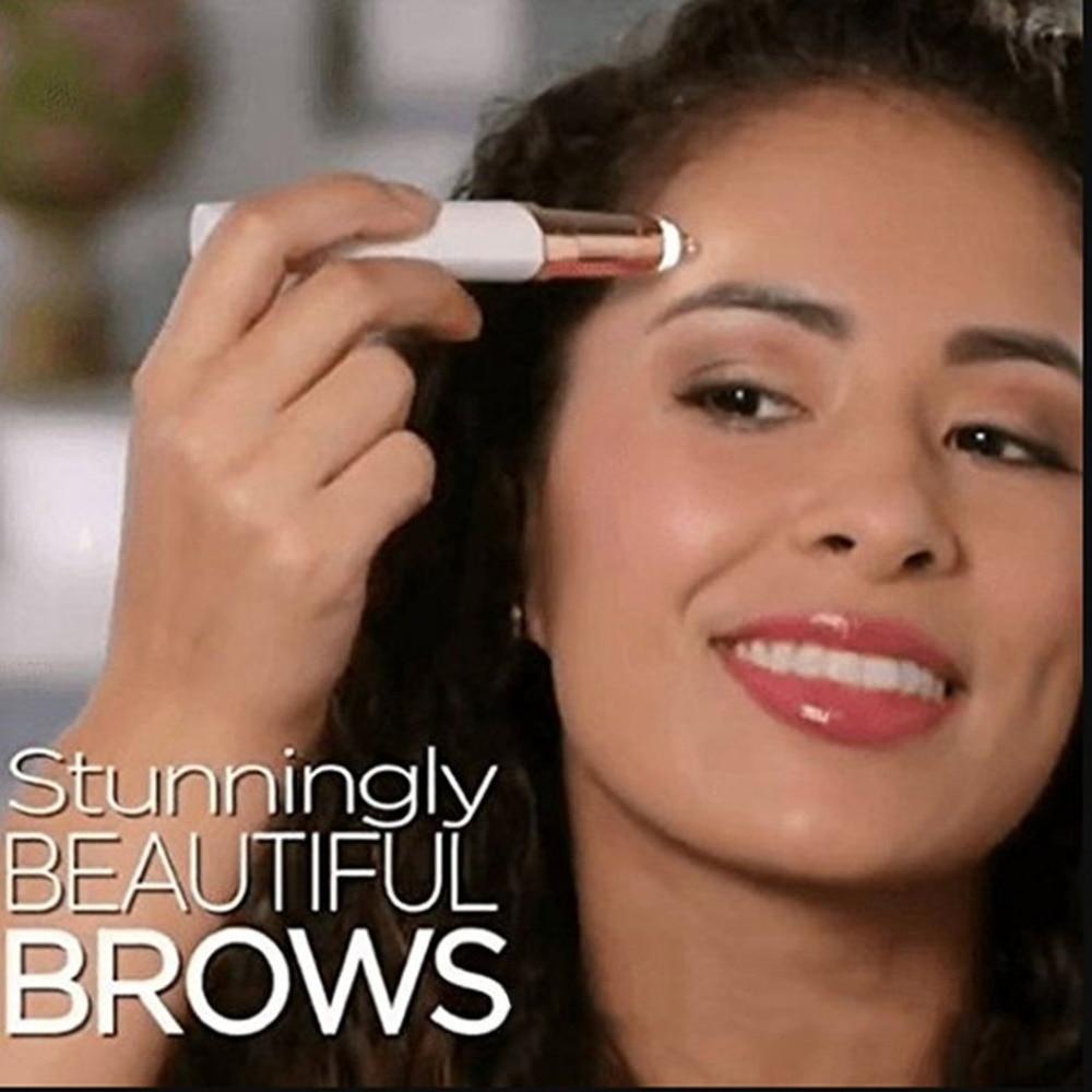 Laser Electric Lipstick Eyebrow Repairer Women Lipstick hair remover portable Lipstick Hair remover Wax Support Dropshipping комплект белья pink lipstick