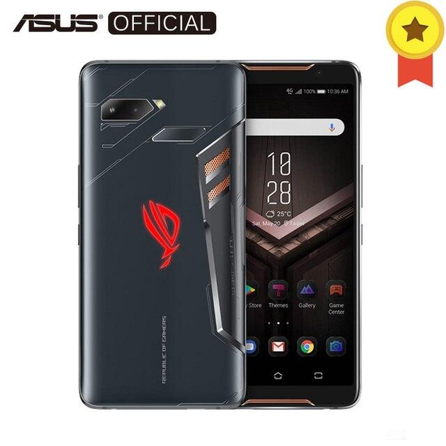 "ASUS ROG телефон ZS600KL 8 ГБ Оперативная память 512 ГБ Встроенная память игровой телефон Snapdragon 845 2,96 ГГц 6,0 ""18:9 AMOLED Экран Android8.1 телефон 4000 мАч"