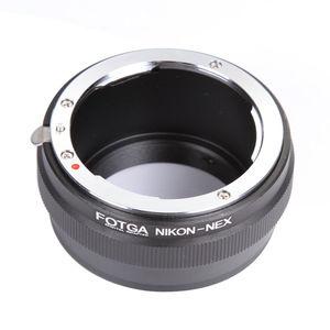 Image 2 - FOTGA עדשת מתאם טבעת עבור ניקון AI עדשה לסוני E הר NEX 7 6 5N A7 A7S A7R השני a6500 A6300 מצלמה