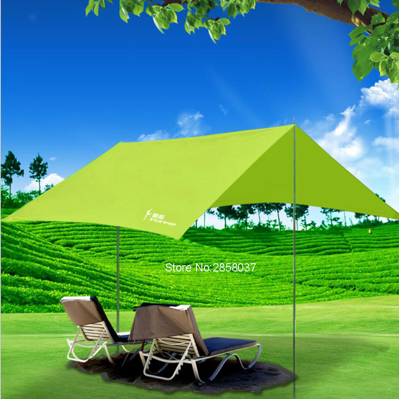 Anti-UV Ultralight 3*2.9m Pergola Awning Canopy 190T Painted Siliver Coating Outdoor Taffeta Trap Sun Shelter Tent 10 Colors 450g 20d double sided silicon tarpe ultralight sun shelter beach tent pergola awning canopy taffeta tarp camping sunshelter