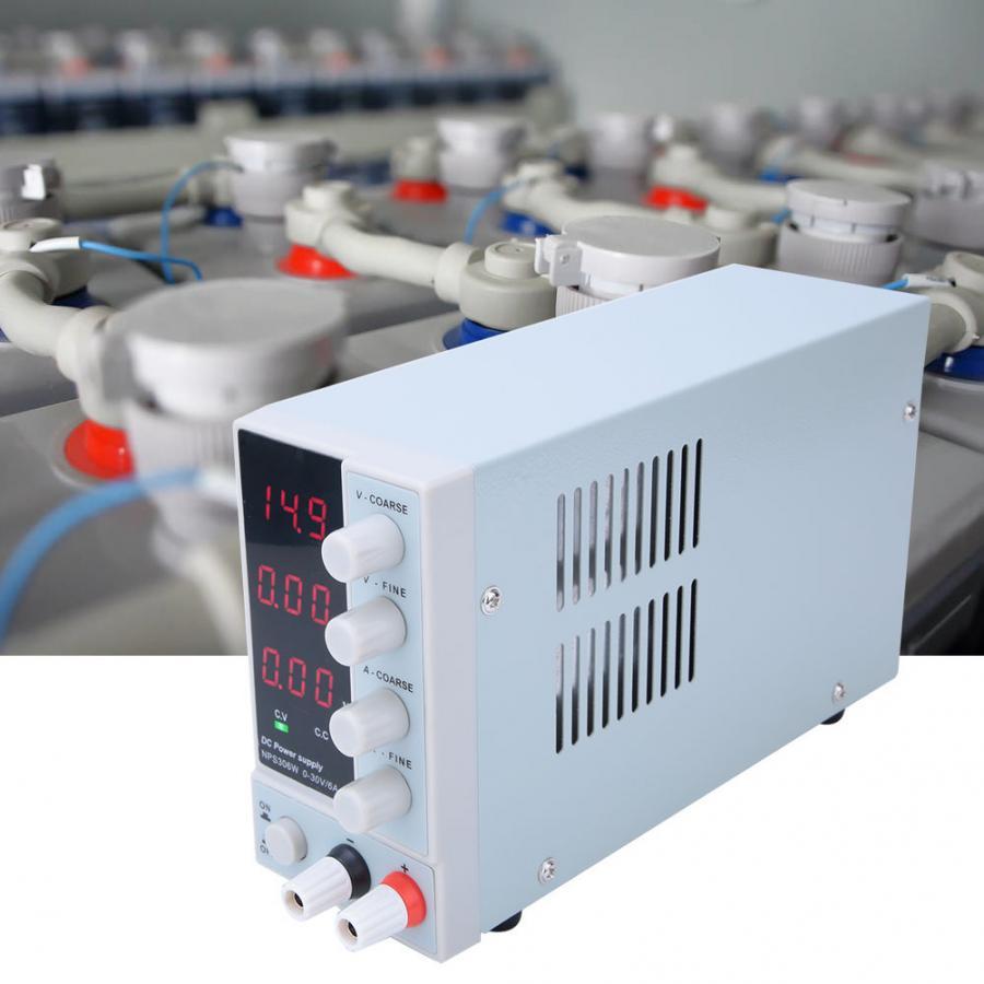 NPS-306W DC alimentation 3 affichage nombres LED réglable régulateur de commutation laboratoire réparation retravail 110/220V
