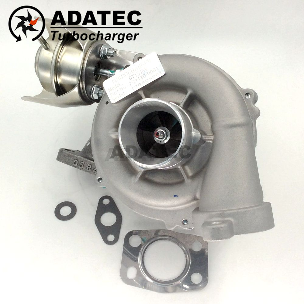 GT1544V Garrett Turbocharger 753420 750030 740821 Turbine 0375J6 0375J8  0375J7 Turbolader For Citroen C 4 1.6 HDi 109 HP DV6TED4