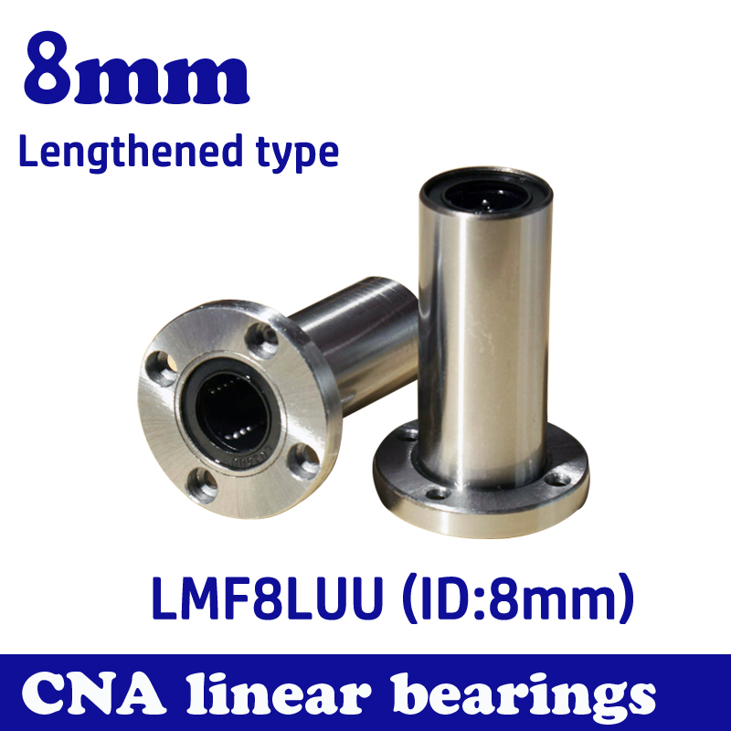 2pcs/lot LMF8LUU long type 8mm flange linear bearing CNC Linear Bush Free shipping loft industrial retro chandelier personality simple creative living room cafe bar spiral staircase chandelier lighting