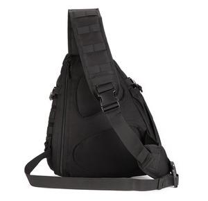 Image 4 - Men 1000D Nylon Sling Chest Bag Water Bottle Day Back Pack Cross Body Messenger Shoulder Packet Military Travel Riding New