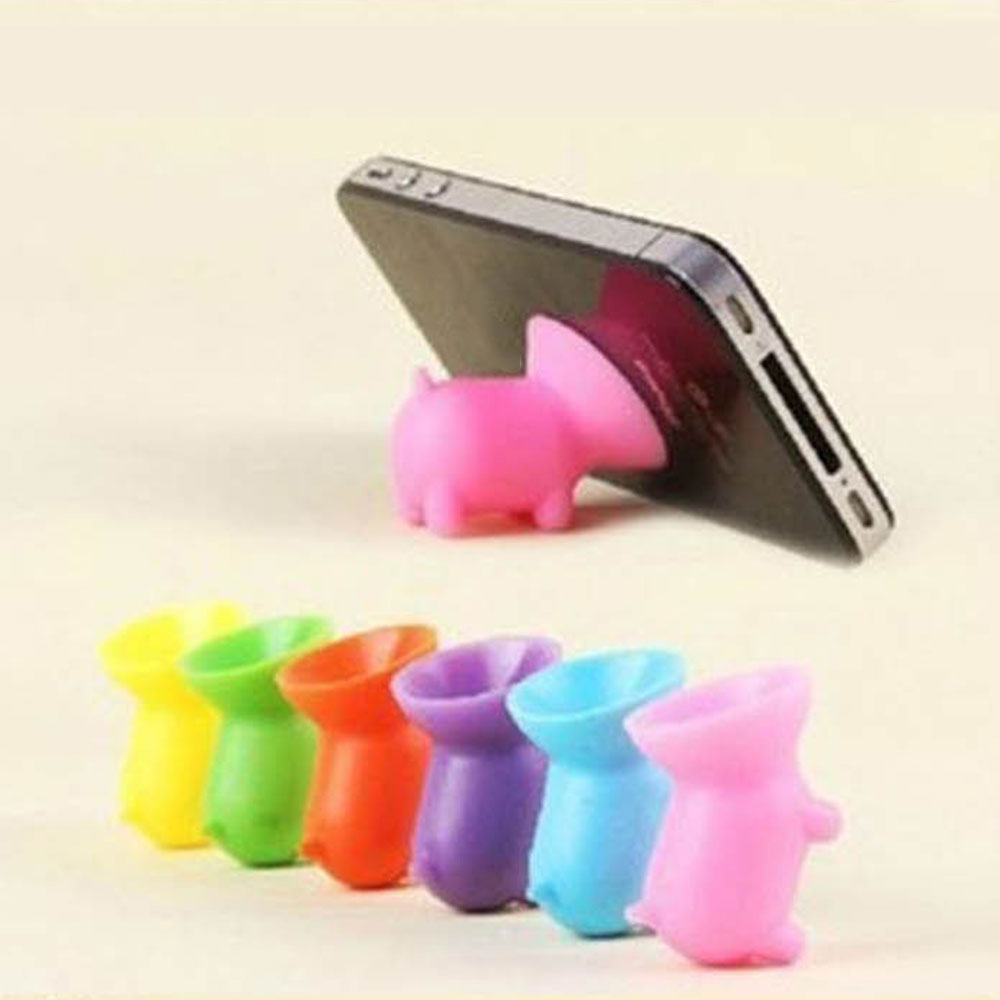Piggy Suction Cup Bracket Universal Mobile Phone Cellphone Stand Holder UK
