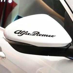 Image 4 - 4pcs for Alfa Romeo CAST VINYL BRAKE CALIPER DECALS STICKERS Car Logo emblem Badge stickers for giulietta Mito 147 156 159 166