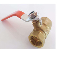 two-way valves Brass ball valve NPT DN15 DN20 DN25 DN32 DN40 DN50