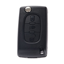 цена на 3 Button Auto Folding Remote Key Shell Case Cover For Citreon C2 C3 C5 C6 C4 For Picasso Blank Blade Replacement Key Fob