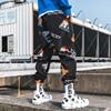 New Fashion Printed Men Harem Pants Hip Hop Casual Streetwear Joggers Men 2019 Summer Fashion Elastic Waist Trousers LBZ45 8