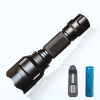 Powerful Led Flashlight Torch Lights CREE XM L2 Flash Light Lampe Torche Linternas Outdoor For Hunting