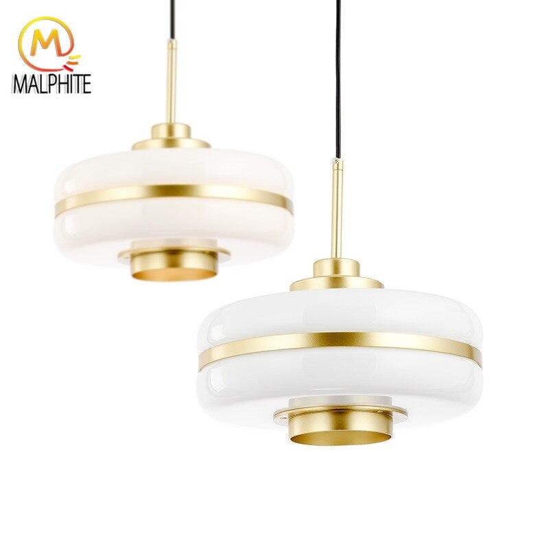 Nordic современные стеклянные подвесные светильники для гостиной Hanglamp освещение кухня светильники Ресторан подвесной светильник висит