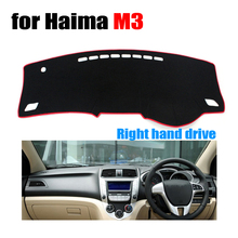 FUWAYDA Car dashboard covers for Haima M3 all the years Right hand drive dashmat pad dash cover auto dashboard accessories