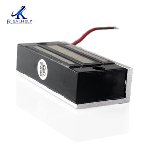 Image 3 - 60kg 100Lbs Force 12VDC Visible installation Cabinet Magnetic Lock  Mini File Cabinet Lock Small Maglock Single Door NC Access