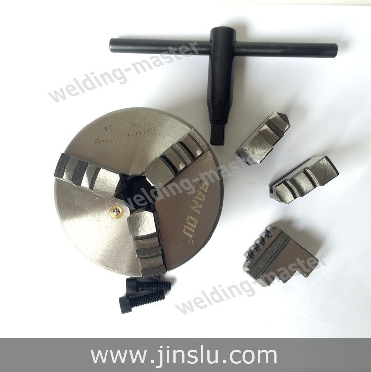 Free Shipping Self-centering Manual 3 jaw Lathe Chuck K11-80 3 inch hsc8 6 6 24 10 awg 0 25 6 0mm2 terminal crimping pliers tongs clamp tool bootlace ferrules crimper wire cable cord end lug m25