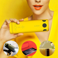 Portable Bluetooth Audio Power Supply Outdoor Riding Bluetooth Speaker Support 8000mAh Power Bank Hands Free Call