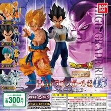 Tronzo 4PCS/Set Original Bandai Dragon Ball HG Figure Gashapon 03 Goku Vegeta Freeza Buruma PVC Action Figure Model Toys Gifts
