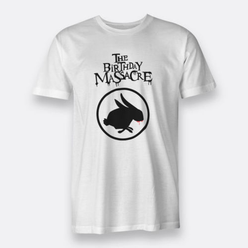 The Birthday Massacre T Shirts Tees For Mens White S XXXL Size In From Clothing Accessories On Aliexpress