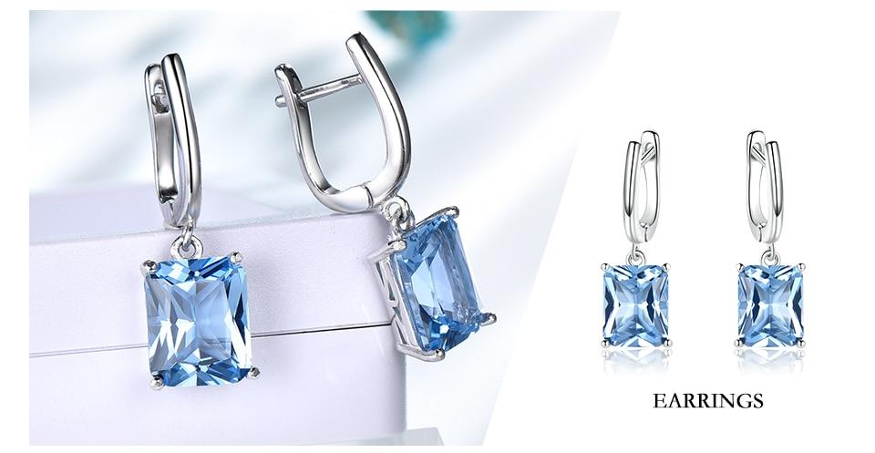 silver jewelry set for women  brand fine jewelry (5)