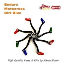 OT 116 Motocross 부품 NC250 NC450 업그레이드 시프트 레버 긴 확장 엔듀로 키트 먼지 자전거 스페어 크로스 Nihao MOTOLAND VENTO BSE