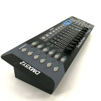 Newest 192 DMX Controller For Stage Light DJ Controller Equipment DMX512 Console Dsico Controller