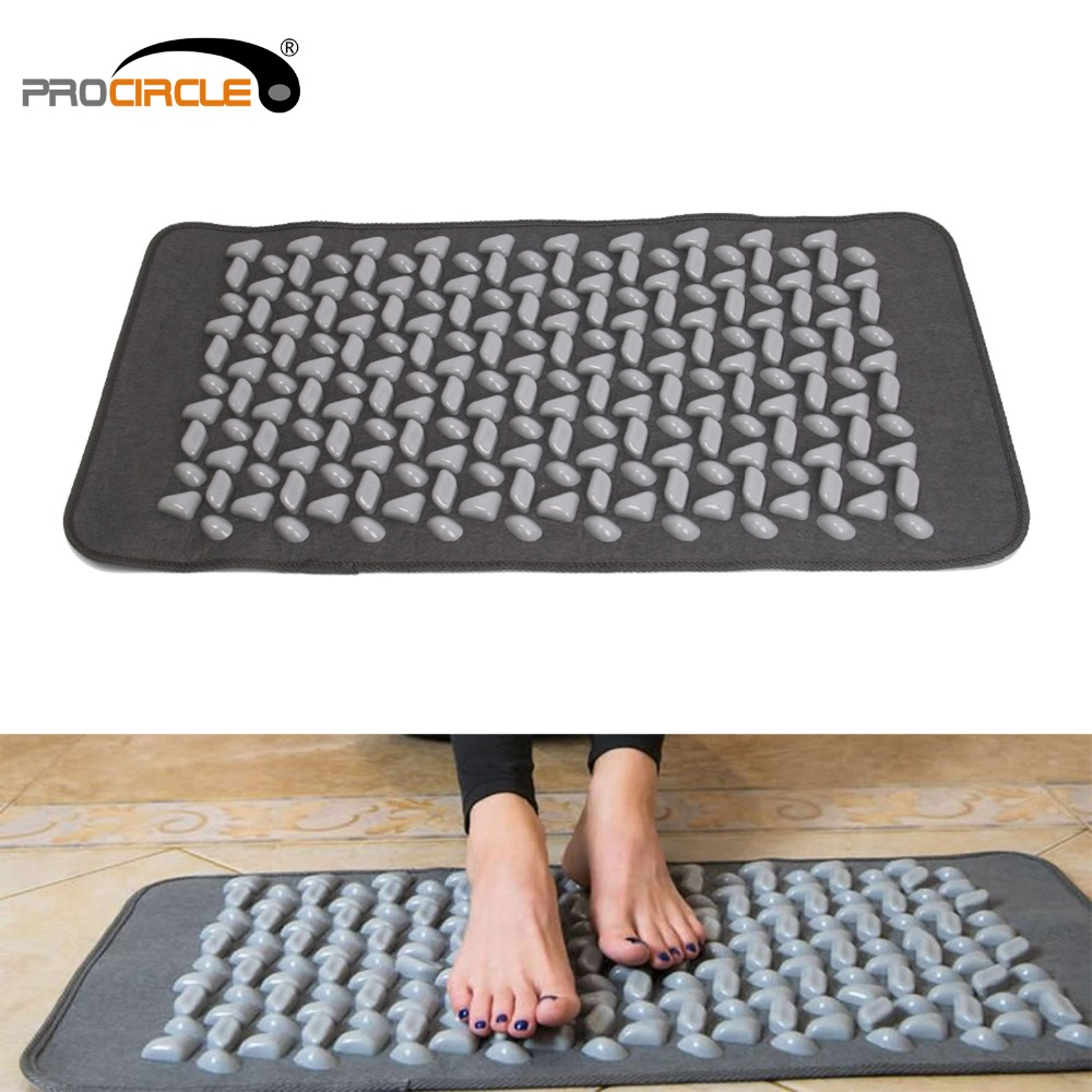 Procircle Acupressure Yoga Mat Cobblestone Massage Mat For Stress Pain Foot Body Relief цены