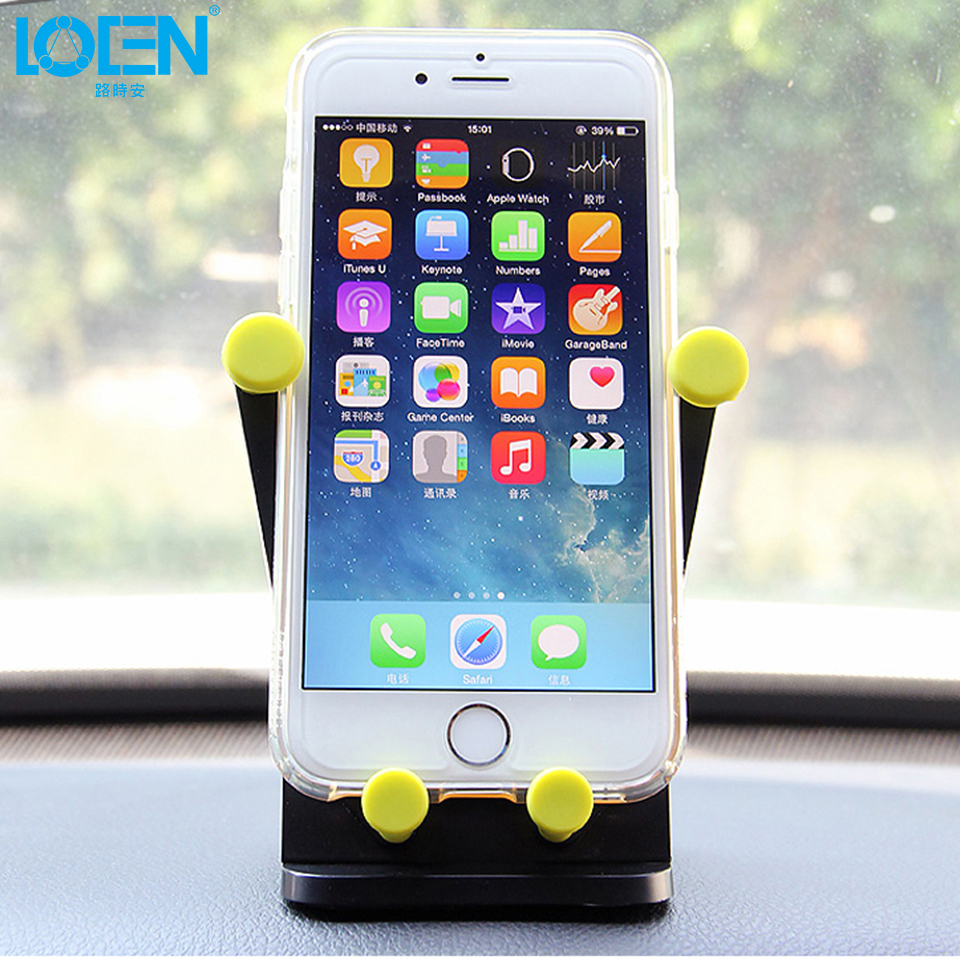 car styling Car outlet phone bracket hook clip for iphone 5 5s 6 6s 7 office phone stand 360 degree rotation phone holder 2color