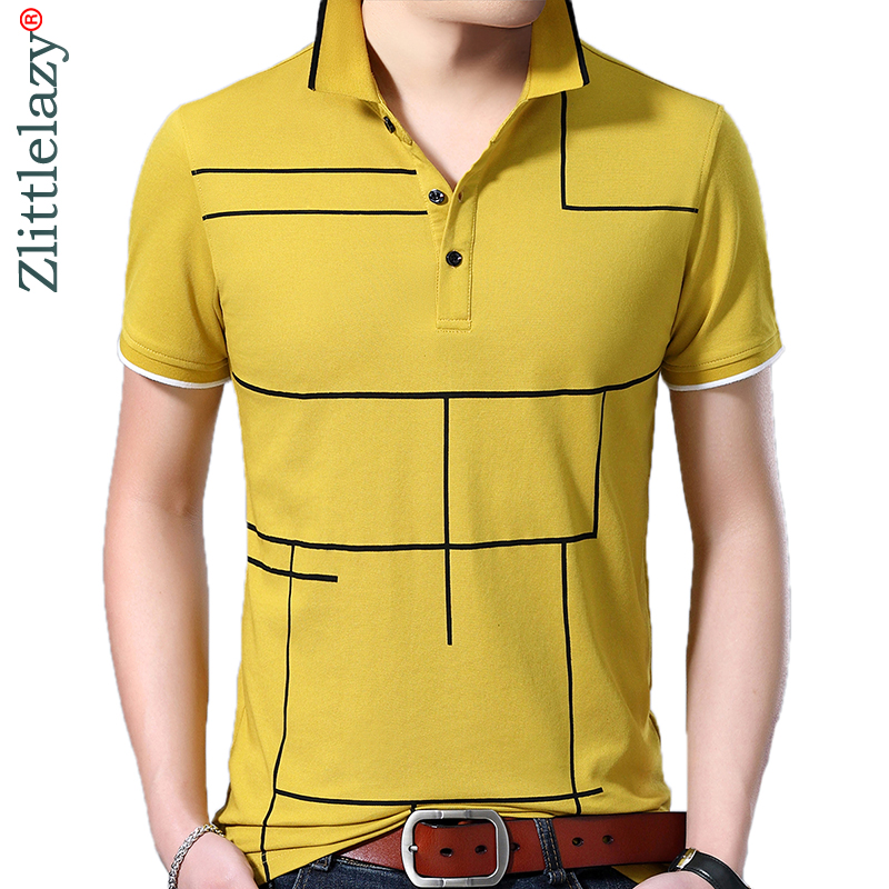 2019 brand casual summer plaid short sleeve   polo   shirt men poloshirt jersey luxury mens   polos   tee shirts dress fashions 41645